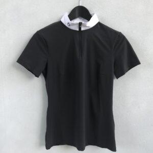 CT trøje hvid krave sort