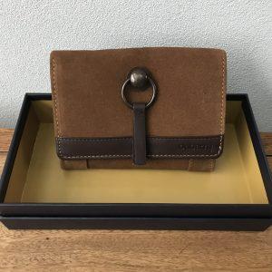 dubarry læderpung brun